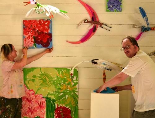 Garden Magic Blooms with Art